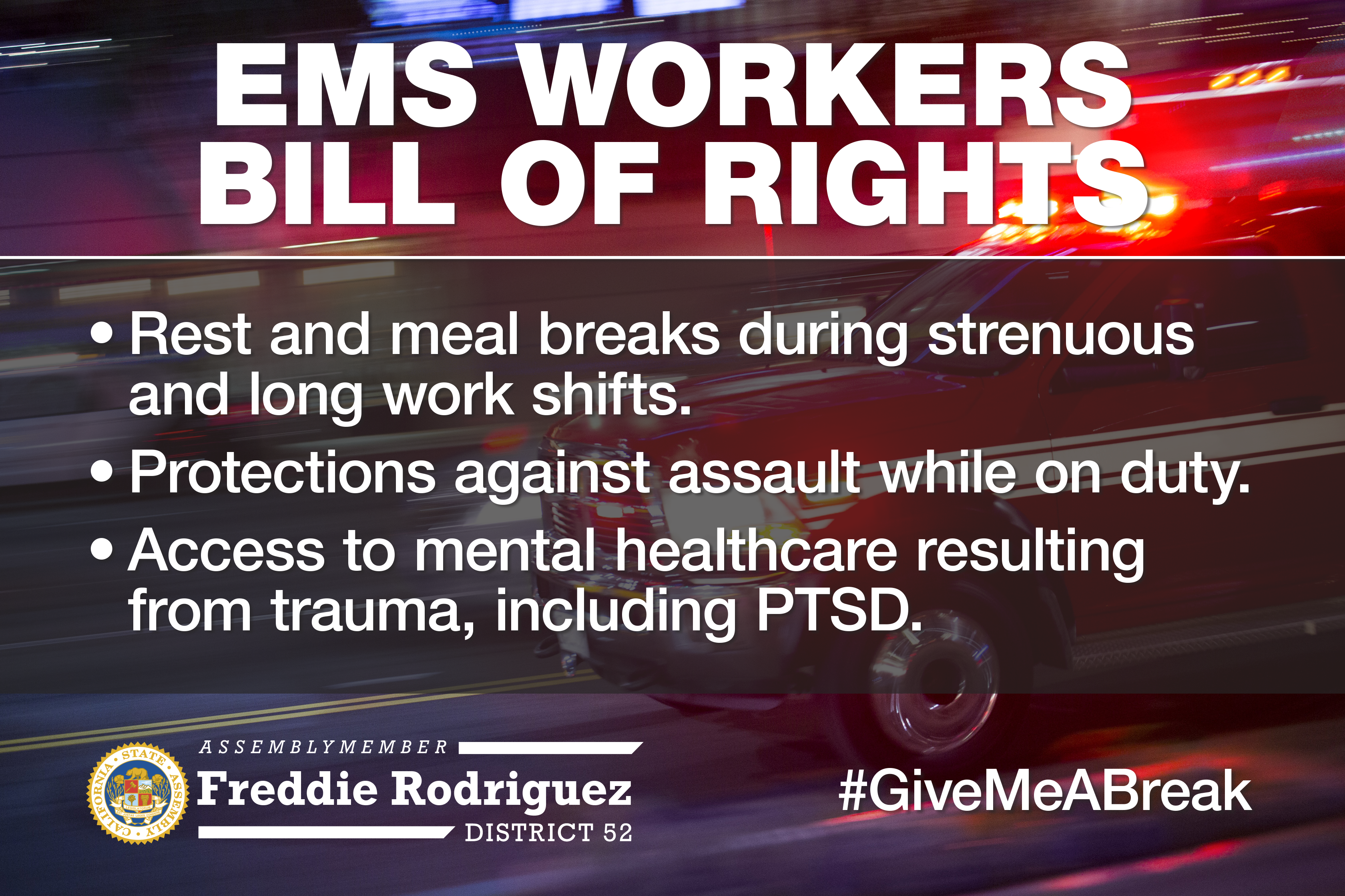 EMS Workers Bill of Rights