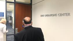 Asm. Rodriguez tours CalOES headquarters