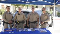 California Highway Patrol officers
