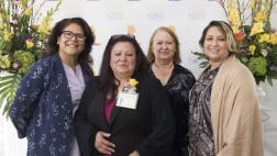 Maria Alonso and guests at the State Capitol.